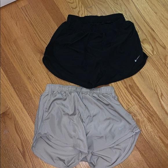 Nike Pants - TWO pairs of Nike workout shorts.